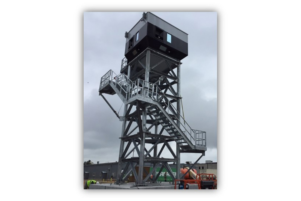 Tower Elevated Ballistic Rated Enclosure
